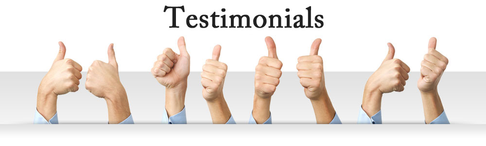Watch these RESULTS Testimonials from Joe Nicassio's Happy Clients